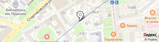 Адвокатское партнерство на карте Москвы