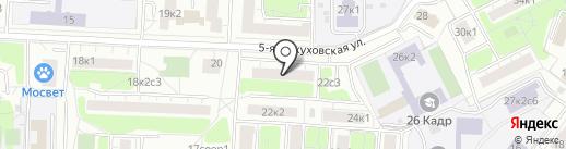 Юридическая помощь на карте Москвы