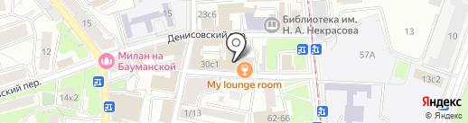 Porketteria ZIZO на карте Москвы