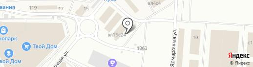 Сортон на карте Мытищ