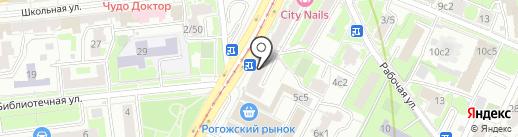 Либерально-демократическая партия России на карте Москвы