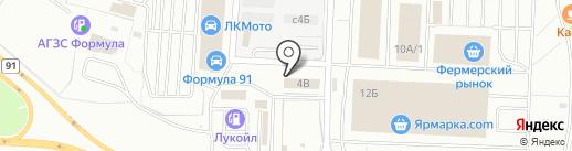 Хоста-С на карте Мытищ