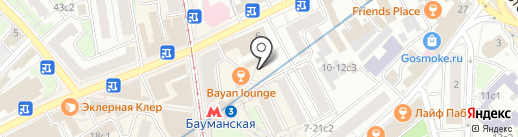 PAYTOURS.RU на карте Москвы