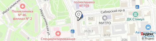 Vivian Royal на карте Москвы