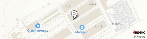 Напольная ярмарка на карте Мытищ