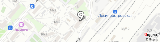 Ми-Трейд на карте Москвы