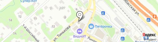 Тинькова-1 на карте Видного