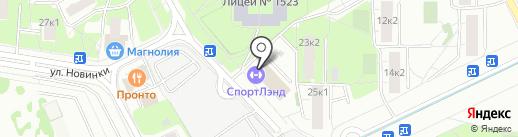 Taekwon на карте Москвы