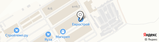 СтройИнвест-2000 на карте Мытищ