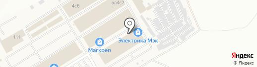 Магазин дверей и замков на карте Мытищ