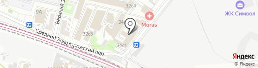 Автоломбард Национальный кредит на карте Москвы