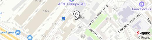 Амарко-Сервис на карте Москвы