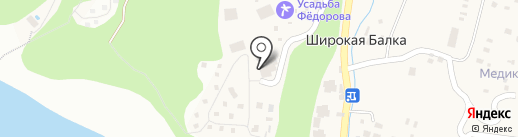 Горизонт на карте Новороссийска