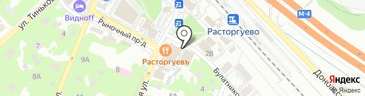 Гостиный двор на карте Видного