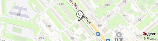 Аптечный пункт на карте Тулы