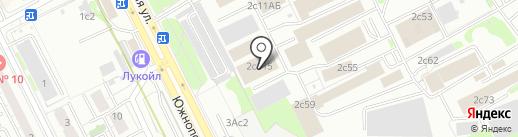 E-move на карте Москвы