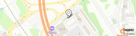 Медитэк на карте Видного