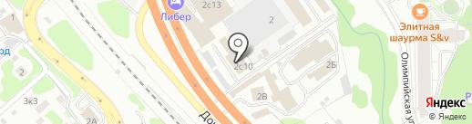 Эртен1 на карте Видного
