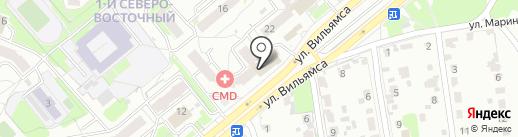 Магазин миниатюрных сувениров ручной работы на карте Тулы