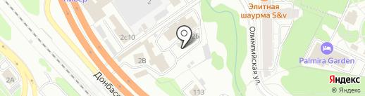 ДЮРЕН на карте Видного