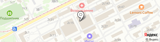 TEXTILE-SOLO на карте Москвы