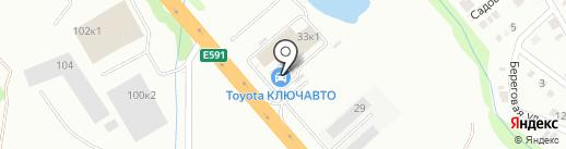 КЛЮЧАВТО на карте Новороссийска