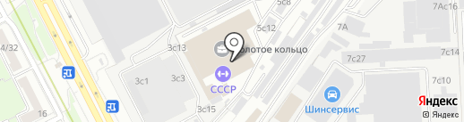Бульон на карте Москвы