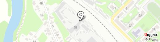 Автогруз на карте Тулы