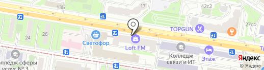 ЦентрТехноСерт на карте Москвы