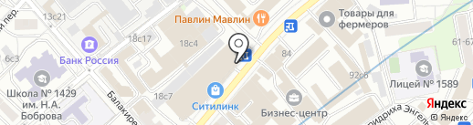 Porto на карте Москвы