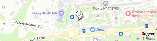 Золотой театр на карте Видного