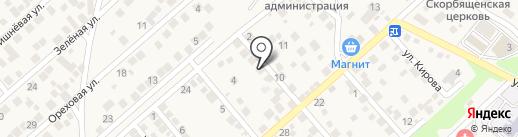 Салон чистки пухо-перьевых изделий на карте Новороссийска