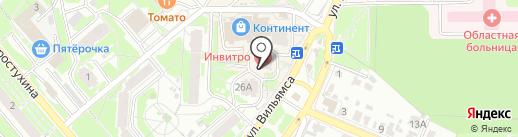 Магазин автозапчастей на карте Тулы
