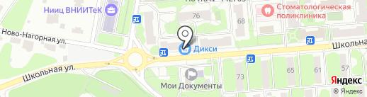 Ремонтная мастерская на карте Видного