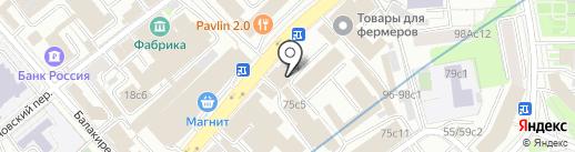 Центр Комплексной Безопасности на карте Москвы