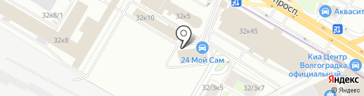Авто-Дим на карте Москвы