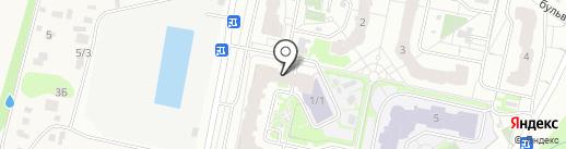 Грин Маркет на карте Видного