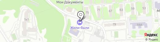 Нормапроект на карте Видного