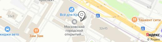 СТК, АНО на карте Москвы