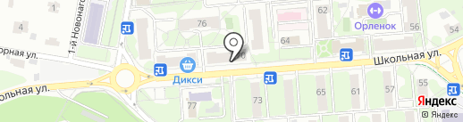 Meeting point на карте Видного
