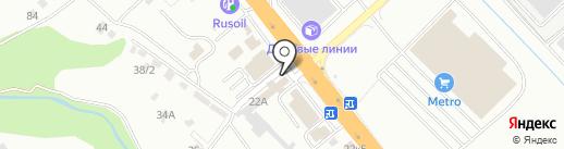 Магазин грузовых автозапчастей на карте Новороссийска