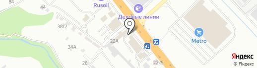 Магазин продуктов на карте Новороссийска