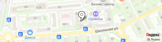 Согласие на карте Видного