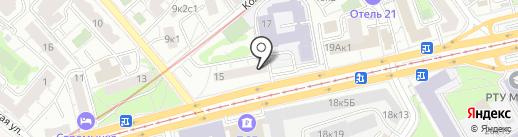 Симилиум на карте Москвы
