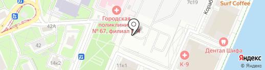 AN-MEDIA на карте Москвы