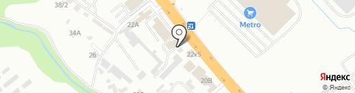СтройкА-Я на карте Новороссийска