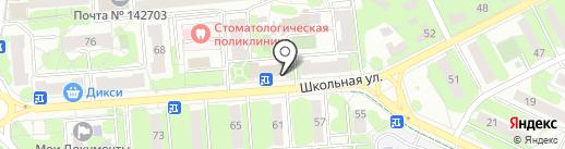 Дикси на карте Видного