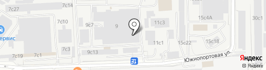 ADR на карте Москвы
