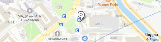 Fiqus на карте Москвы