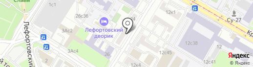 Лук-Строй на карте Москвы